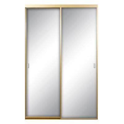 contractors wardrobe asprey 84 in x 81 in mirror satin