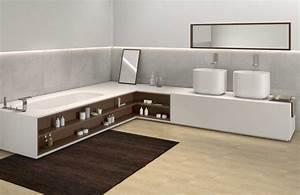 Tendance la salle de bains integree styles de bain for Salle de bain integree