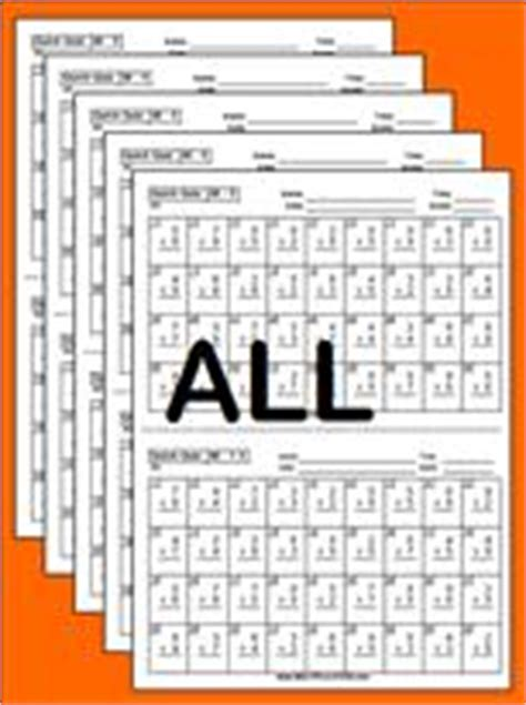 10 Plus Facts Worksheets