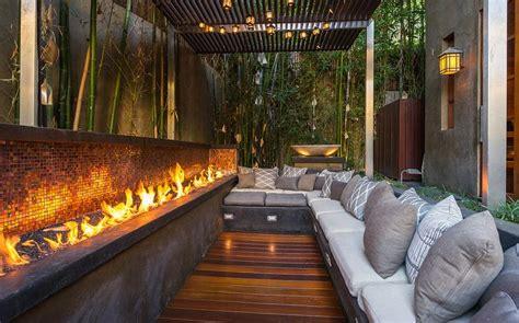 Long Fire Pit Design Ideas