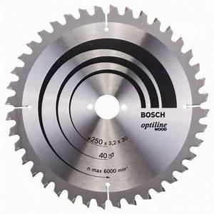 Lame De Scie Circulaire Diametre 250 Alesage 30 : 2608640643 lame de scie circulaire bosch 250 x 30mm ~ Dode.kayakingforconservation.com Idées de Décoration