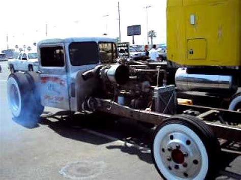 Hernandez Speed shop Kenworth diesel Rat rod drag racer