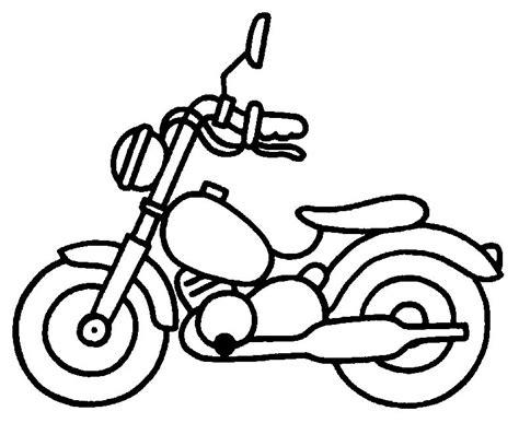 disegno  moto harley davidson da colorare disegni da