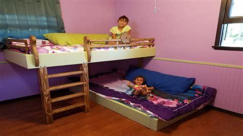 diy bunk beds youtube
