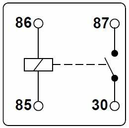 symbol or marking on safety relay electrical engineering With 5 pin relay symbol