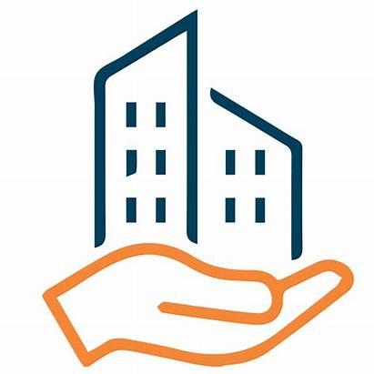 Management Property Clipart Apartment Maintenance Clear Icon