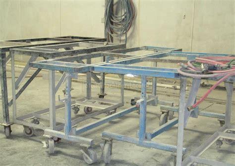 na na a frames fabrication tables etc used machinery