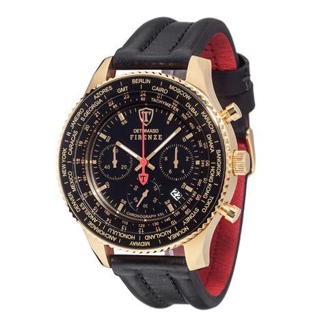 www shop bild de uhren detomaso firenze herren armbanduhr chronograph gold kaufen bestellen im bild shop