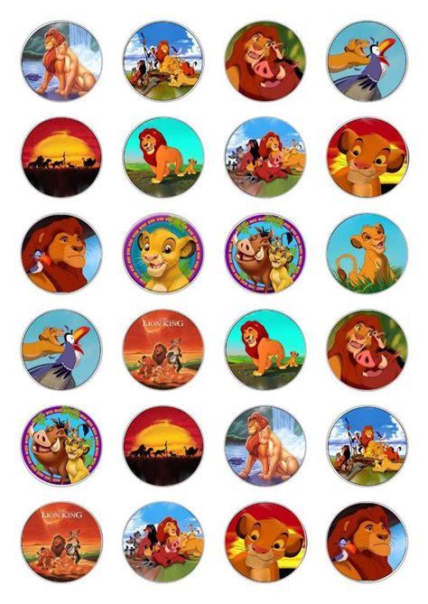 ideas  lion king cupcakes  pinterest