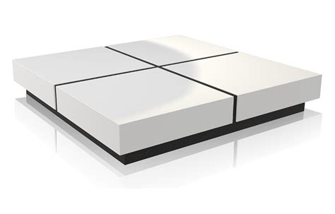 modern white table l white modern coffee table coffee table design ideas