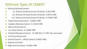 Cement and cement concrete
