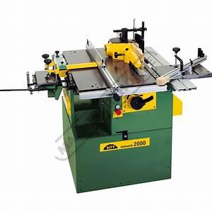 W916 Bestcombi Kity 2000 Combi Wood Worker Machine For
