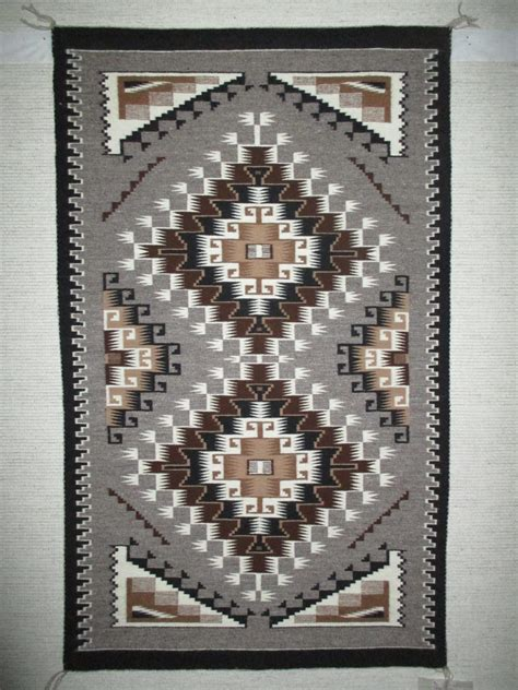 Navajo Indian Rugs by Two Grey Rug By Begay Medium Size Navajo Rug