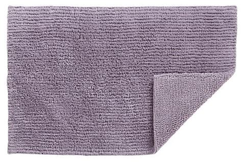reversible wisteria bath rug modern bath mats by crate barrel