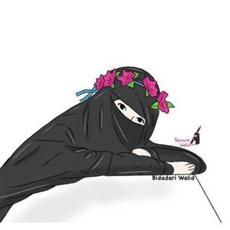 78 Gambar Kartun Muslimah Kacamata Terbaru