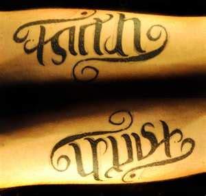 flip  script tattoos ambigram tattoo tattoos body
