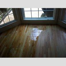 Hardwood Floor Recoating  Flooring Finish Application