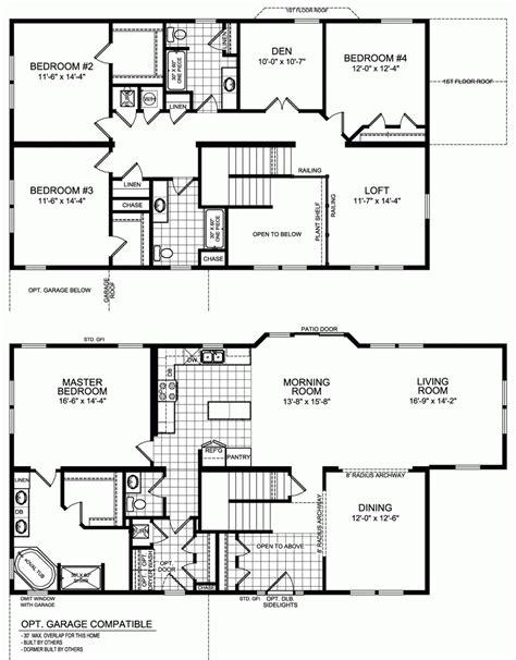 5 bedroom floor plan five bedroom house design ahoustoncom and floor plans for
