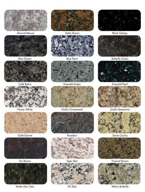 Granite Colors On Pinterest  Blue Granite, Caledonia
