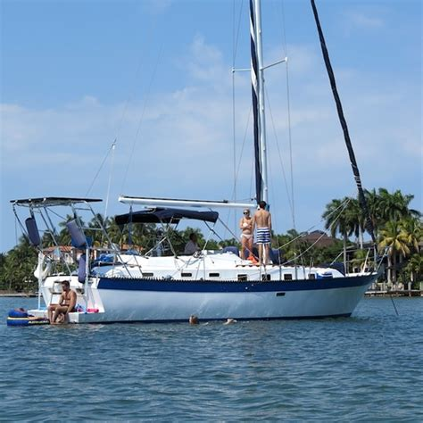 Key West Overnight Boat Rentals by Lancer 42 Sailing Yacht Sailboat Charter In