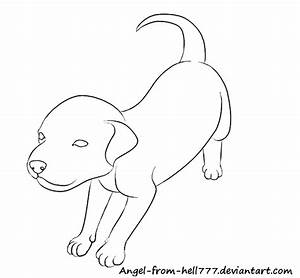 Easy Drawings To Draw Pitbull Puppy Sketch Coloring Page
