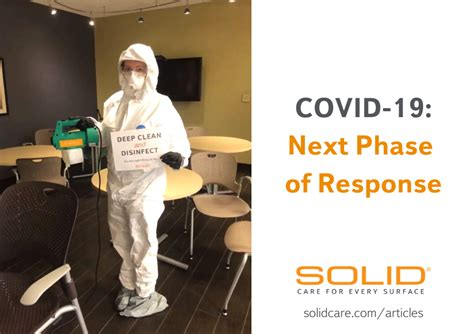 COVID-19: Next Phase of Response - SOLID
