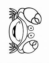 Crab Coloring Pages Coloring2print sketch template
