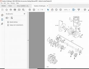 Seadoo Challenger 1800 1999 Parts Accessories Catalog