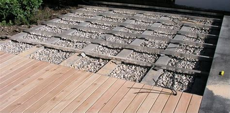 terrassen unterkonstruktion abstand alu unterkonstruktionen