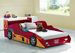 Joseph Turbo Racer Red 3ft Single Car Bed Frame