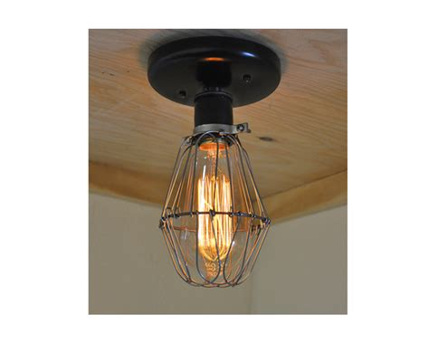 cage light industrial wall sconce industrial lightworks
