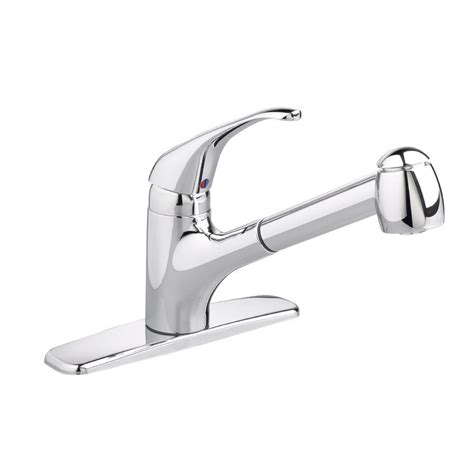kitchen faucet with built in sprayer pull out sprayer kitchen faucets the home depot