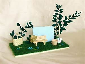 Garten Gutschein Basteln : miniatur karte garten f r gutschein geldgeschenk von ml ~ Lizthompson.info Haus und Dekorationen