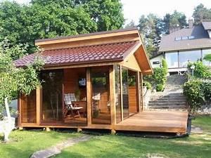 gartenhaus sommerhaus bbq haus grillhaus gartensauna With französischer balkon mit schaukel für garten gebraucht kaufen