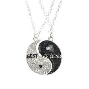 Lot De 2 Colliers Meilleures Amies Motif Yin Yang Bff Pinterest Bijouterie Glace Et Amis