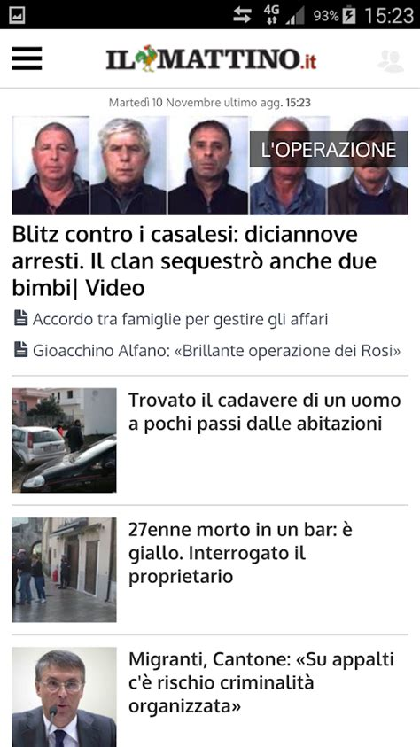 Il Mattino Mobile by Il Mattino Mobile Android Apps On Play