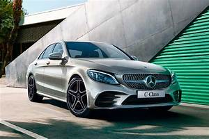 New 2018 Mercedes-Benz C-Class Mojave Silver Front Quarter