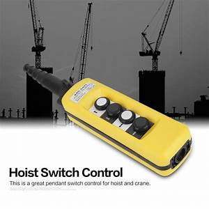 Lifting Pendant Controller Crane Chain Hoist Push Button