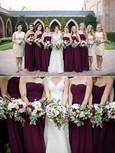 eggplant bridesmaids dresses purple weddings photo With eggplant dresses for weddings