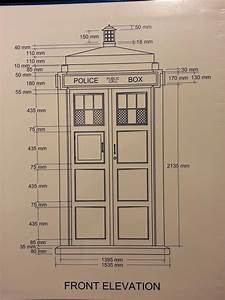 Englische Telefonzelle Deko : tardis plans with dimensions whovian pinterest englische telefonzelle und deko ~ Frokenaadalensverden.com Haus und Dekorationen