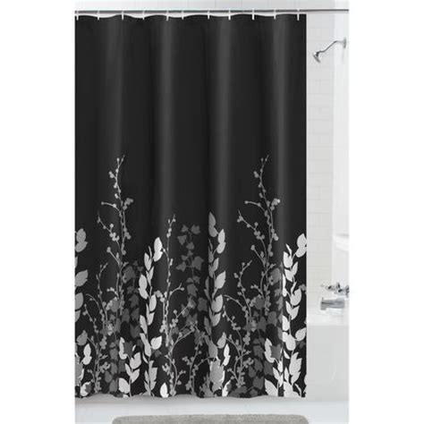 mainstays shadow leaf fabric shower curtain walmart ca