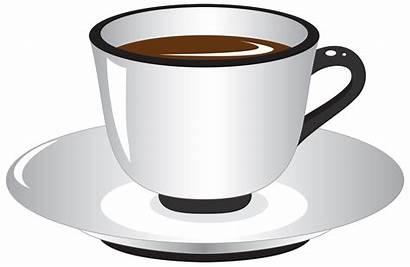 Cup Tea Transparent Animated Clipart Background Saucer