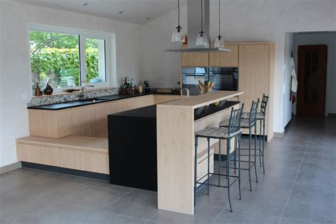 cuisine de bar cuisine avec retour bar cuisine en image