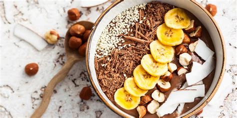 Chocolate Hazelnut Smoothie Bowl Nikki Kuban Minton