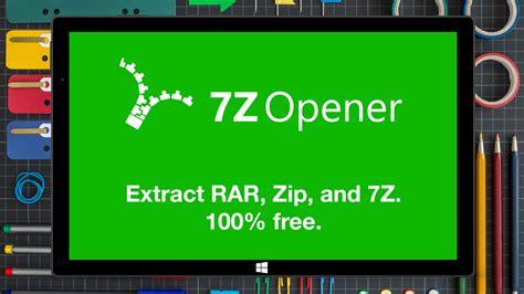 7z Opener For Windows 10