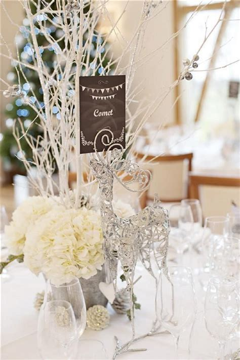 winter themed wedding table decorations white winter wonderland wedding centerpieces wedding