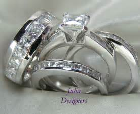 wedding sets for his and hers wedding ring sets wedding rings for him and ebay diamantbilds