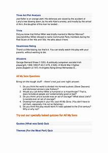 Yellow Wallpaper Analysis Essay All My Sons Essay Plans Th Grade Book Report Idirections Business Essay Writing Service also English Essay Short Story All My Sons Essays The Power Of Followership All My Sons Essays For  Essays On Health Care Reform
