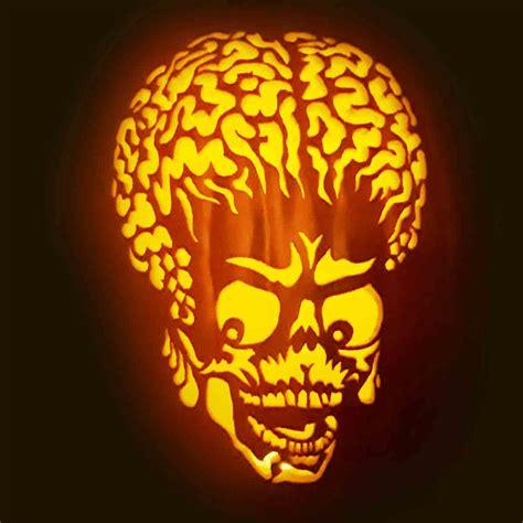 halloween scary face pumpkin carving ideas