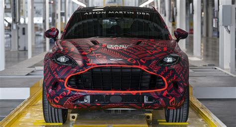 Aston Martin To Cap Dbx Production At 5,000 Units Per Year